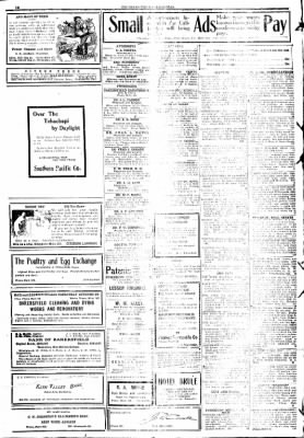 The Bakersfield Californian from Bakersfield, California on December 16, 1908 · Page 10