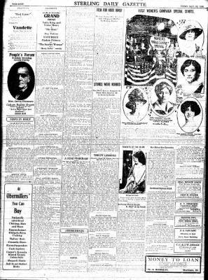 Sterling Standard from Sterling, Illinois on September 29, 1916 · Page 8