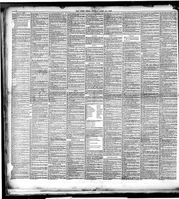 The Irish Times From Dublin Dublin Ireland On April 29 1889