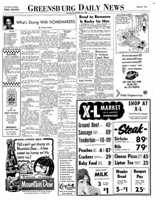 Greensburg Daily News from Greensburg, Indiana on October 6, 1965 · Page 2
