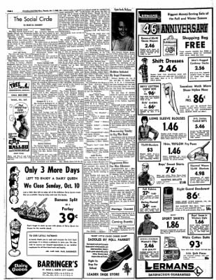 Greensburg Daily News from Greensburg, Indiana on October 7, 1965 · Page 6
