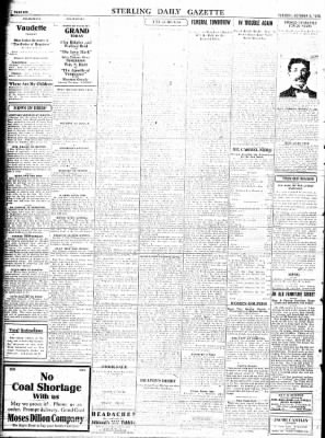 Sterling Standard from Sterling, Illinois on October 3, 1916 · Page 6
