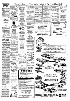 Carrol Daily Times Herald from Carroll, Iowa on April 12, 1974 · Page 6