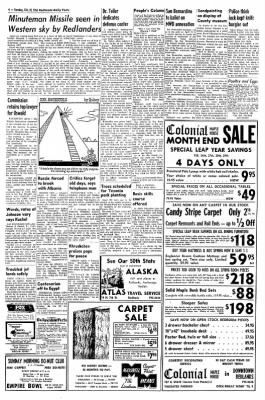 Redlands Daily Facts from Redlands, California on February 25, 1964 · Page 4