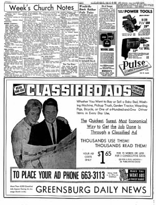 Greensburg Daily News from Greensburg, Indiana on October 22, 1965 · Page 8