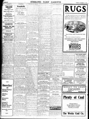 Sterling Standard from Sterling, Illinois on October 6, 1916 · Page 6