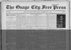 The Osage City Free Press