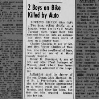 Bobby Businger bike crash