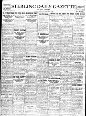 Sterling Standard from Sterling, Illinois on October 11, 1916 · Page 1