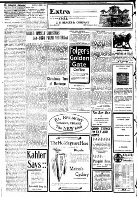 The Bakersfield Californian from Bakersfield, California on December 28, 1908 · Page 2