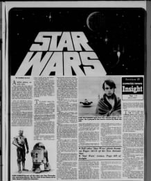 Newspaper serializes Star Wars novel