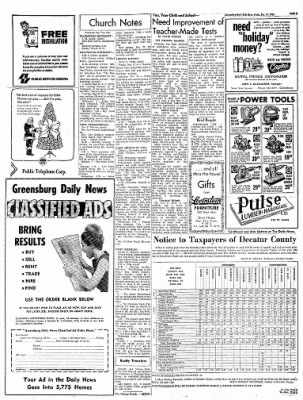 Greensburg Daily News from Greensburg, Indiana on December 17, 1965 · Page 5