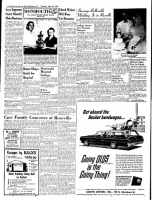 Galesburg Register-Mail from Galesburg, Illinois on June 25, 1963 · Page 10