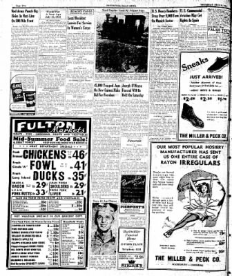 Naugatuck Daily News from Naugatuck, Connecticut on July 13, 1944 · Page 2