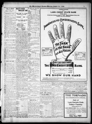 The Wichita Daily Eagle from Wichita, Kansas on August 28, 1906 · Page 7