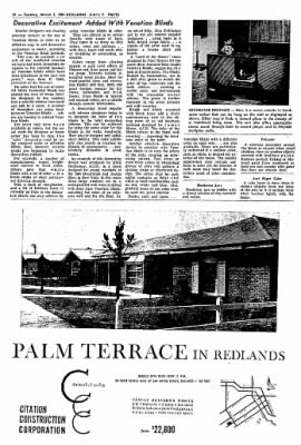 Redlands Daily Facts from Redlands, California on March 3, 1964 · Page 36