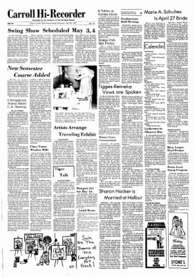 Carrol Daily Times Herald from Carroll, Iowa on April 27, 1974 · Page 6