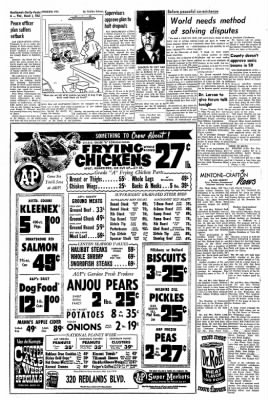 Redlands Daily Facts from Redlands, California on March 4, 1964 · Page 6