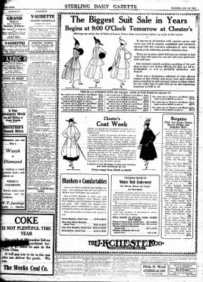 Sterling Standard from Sterling, Illinois on October 26, 1916 · Page 8
