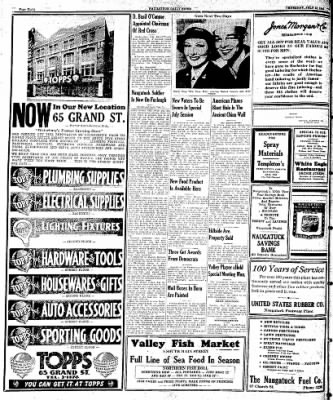 Naugatuck Daily News from Naugatuck, Connecticut on July 13, 1944 · Page 8