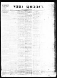 Sample Weekly Confederate front page