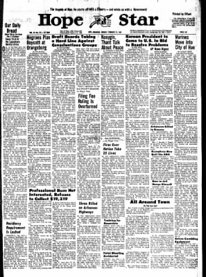 Hope Star from Hope, Arkansas on February 12, 1968 · Page 6