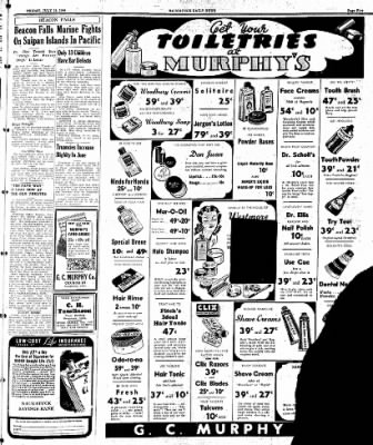 Naugatuck Daily News from Naugatuck, Connecticut on July 14, 1944 · Page 5