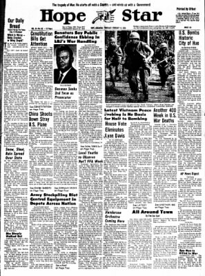 Hope Star from Hope, Arkansas on February 15, 1968 · Page 8