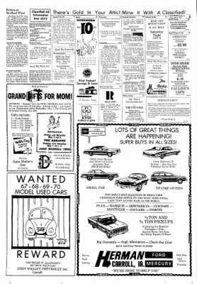 Carrol Daily Times Herald from Carroll, Iowa on May 3, 1974 · Page 8