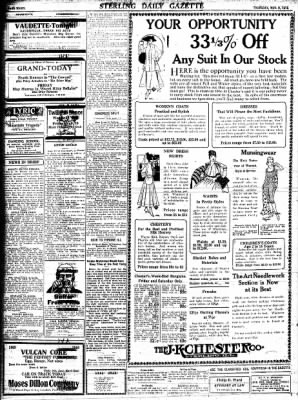 Sterling Standard from Sterling, Illinois on November 9, 1916 · Page 8
