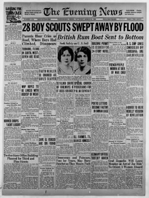The Evening News from Harrisburg, Pennsylvania on March 23, 1929 · Page 1