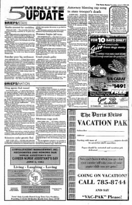 The Paris News from Paris, Texas on June 3, 1993 · Page 5