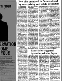 Bennington Banner from Bennington, Vermont on May 9, 1974