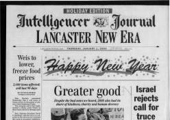Intelligencer Journal/Lancaster New Era