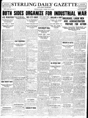 Sterling Standard from Sterling, Illinois on November 16, 1916 · Page 1