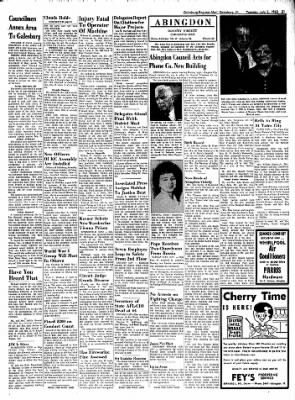 Galesburg Register-Mail from Galesburg, Illinois on July 2, 1963 · Page 21