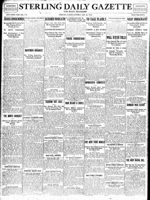 Sterling Standard from Sterling, Illinois on November 18, 1916 · Page 1