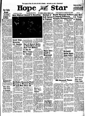 Hope Star from Hope, Arkansas on February 28, 1968 · Page 8