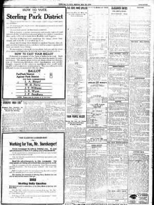 Sterling Standard from Sterling, Illinois on November 20, 1916 · Page 7