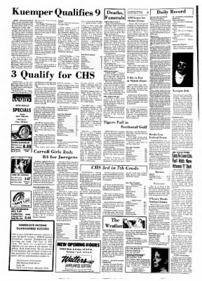 Carrol Daily Times Herald from Carroll, Iowa on May 11, 1974 · Page 2