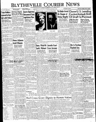 The Courier News from Blytheville, Arkansas on March 10, 1949 · Page 1