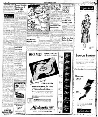 Naugatuck Daily News from Naugatuck, Connecticut on July 19, 1944 · Page 2