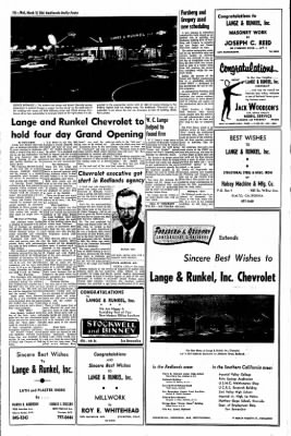 Redlands Daily Facts from Redlands, California on March 18, 1964 · Page 10