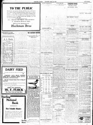 Sterling Standard from Sterling, Illinois on November 23, 1916 · Page 7