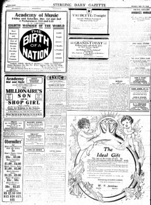 Sterling Standard from Sterling, Illinois on November 27, 1916 · Page 8