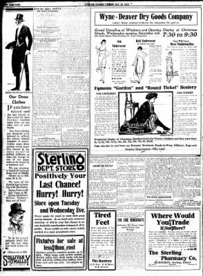 Sterling Standard from Sterling, Illinois on November 28, 1916 · Page 4