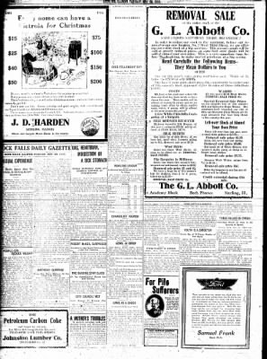 Sterling Standard from Sterling, Illinois on November 28, 1916 · Page 6
