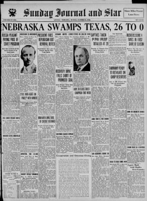 The Lincoln Star from Lincoln, Nebraska on October 8, 1933 · Page 1