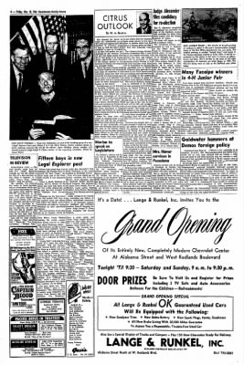 Redlands Daily Facts from Redlands, California on March 20, 1964 · Page 4