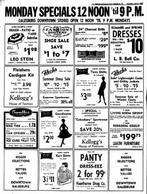 Galesburg Register-Mail from Galesburg, Illinois on July 6, 1963 · Page 14